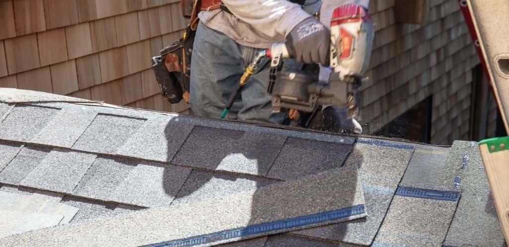 Asphalt Singles Roof Replacement
